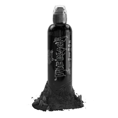 Мастило за татуировки World Famous True Black - Черен цвят